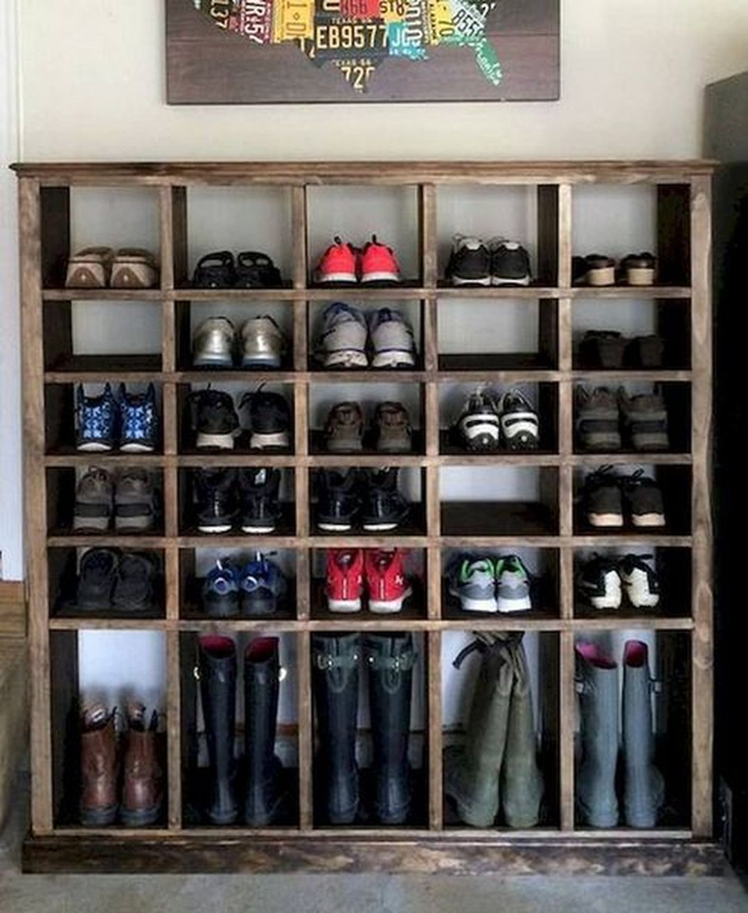 17 Brilliant Shoes Storage Ideas On a Budget