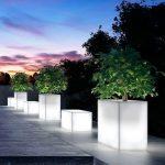 17 Illuminated Planters: How To Make A Glowing Romantic Backyard