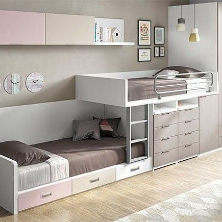 18 Cool Kids Beds With Storage interiordesignsho…