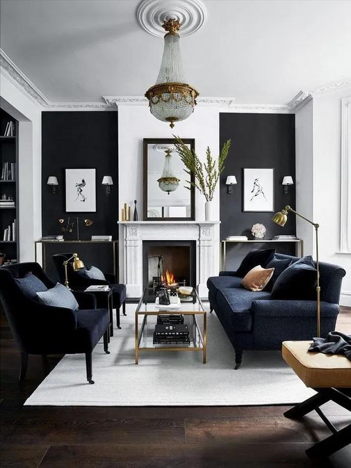 18+ Modern Living Room Furniture Sets Ideas #livingroomdesign #livingroomdecor #…