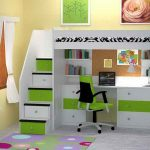 18 Super Smart Ideas of Bunk Beds With Desk - pickndecor.com/furniture