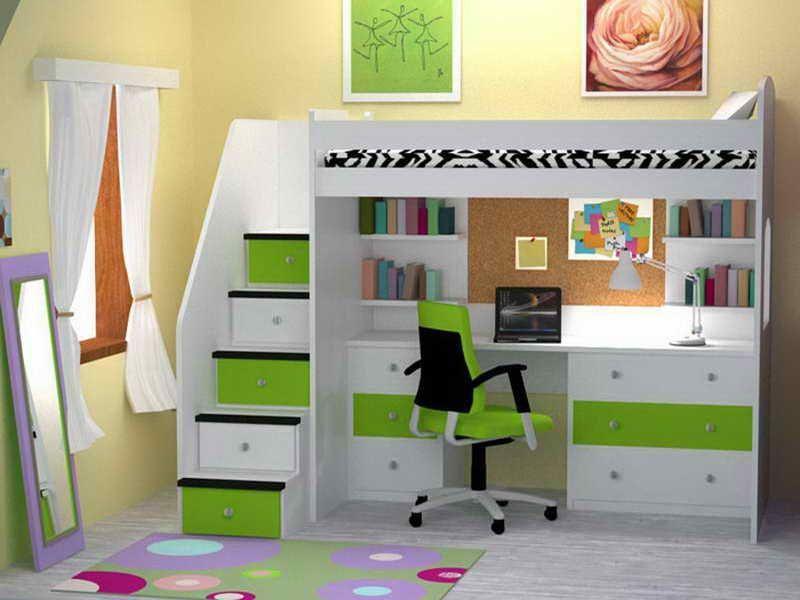 18 Super Smart Ideas of Bunk Beds With Desk – pickndecor.com/furniture
