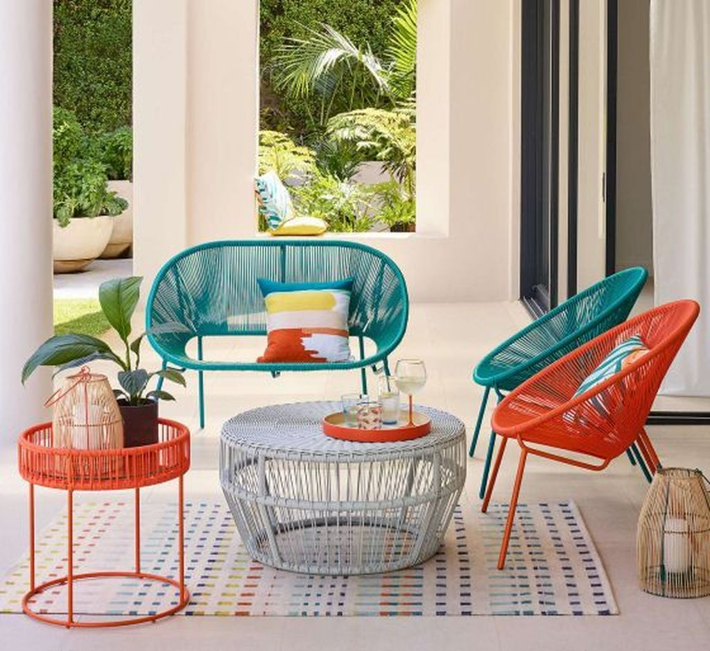 20+ Comfy Outdoor Chair Furniture Design Ideas