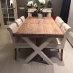 20+ Cute Farmhouse Table Design Ideas Which Is Not Outdated - TRENDECORS