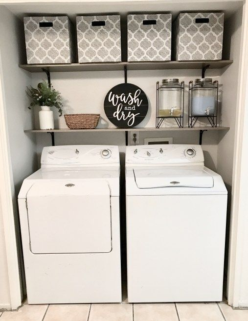 20+ Farmhouse Laundry Room Ideas and Smart Organizer Tips | ziogiorgio