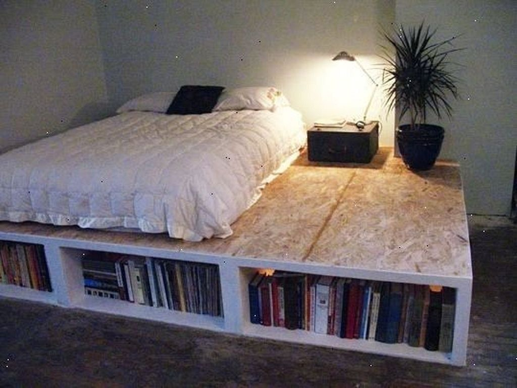 20+ Lovely Diy Wooden Platform Bed Design Ideas – TRENDECORS