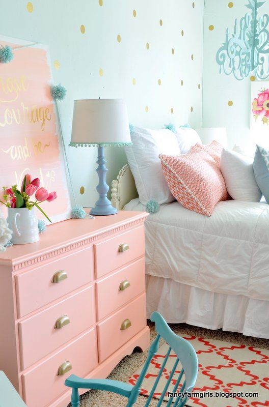 20+ More Girls Bedroom Decor Ideas – pickndecor.com/furniture