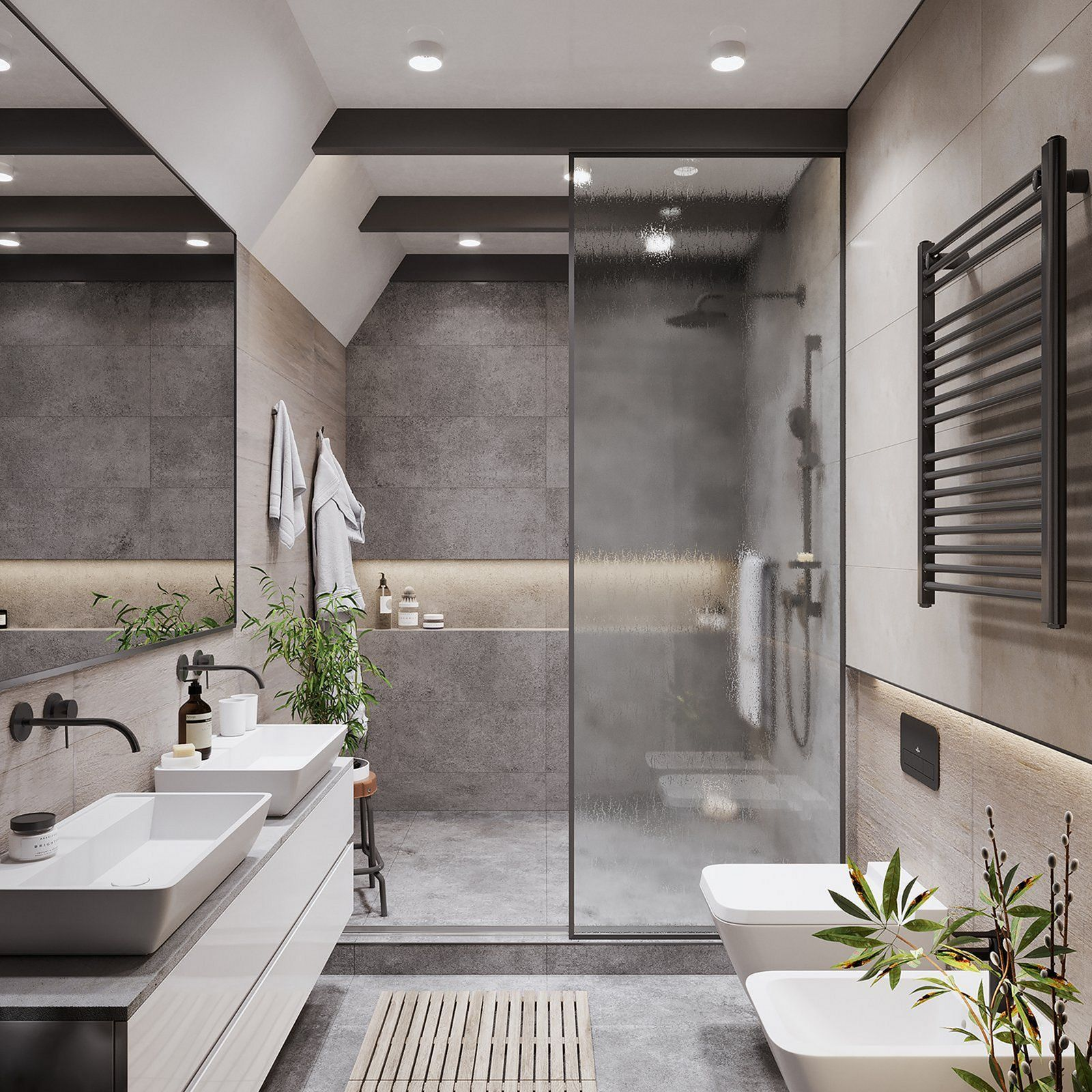 20 Most Beautiful Bathroom Design With Modern Bathtub Ideas