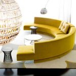20 Round Couches That Will Steal The Show - pickndecor/home