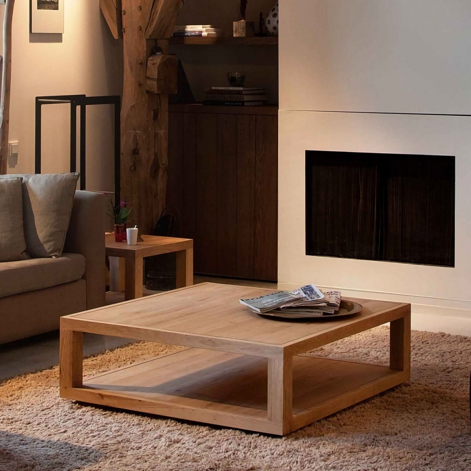 20 Simple Wooden Furniture For Rustic Living Room Ideas