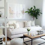 20+ idées de décoration de petit salon confortable et élégant sur un budget