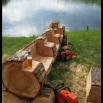 21 Creative Ways of Turning Logs And Stumps Into Garden Furniture · | Woodworke...