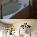 21+ Stunning Before and After Bathroom Makeovers