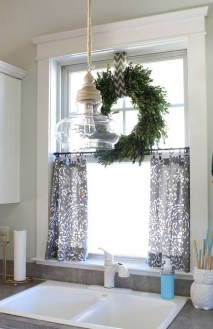23 Best Ideas Farmhouse Kitchen Sink Window Curtains