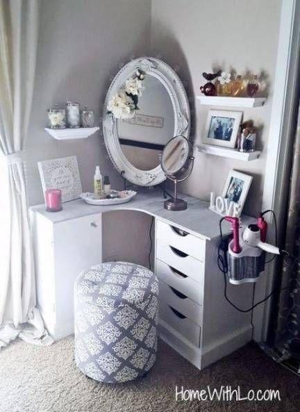23 Best ideas diy makeup vanity desk dressers