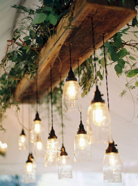 23 Rustic Wedding Lighting Design For Amazing Wedding Reception