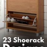 23 Shoe-rack Design Ideas You Should Check Out