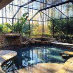 25+ Beautiful Swimming Pool Garden Design Ideas