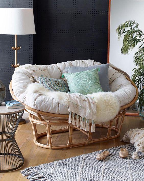 25 Comfortable Papasan Chair Design Ideas – Page 23 of 25 – VimDecor
