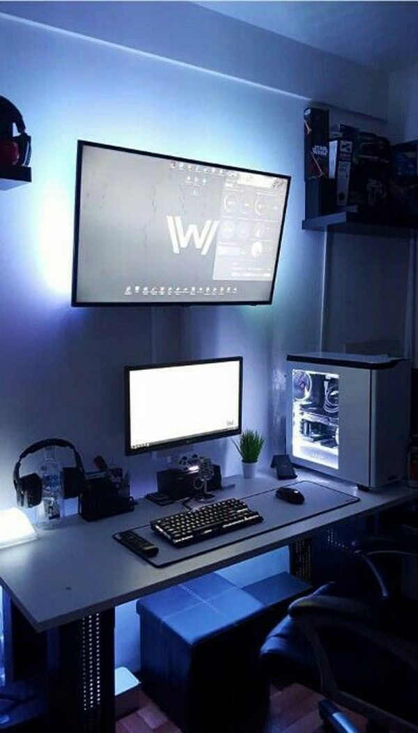 25 Cool And Stylish Gaming Desks For Teenage Boys | Home Design And Interior