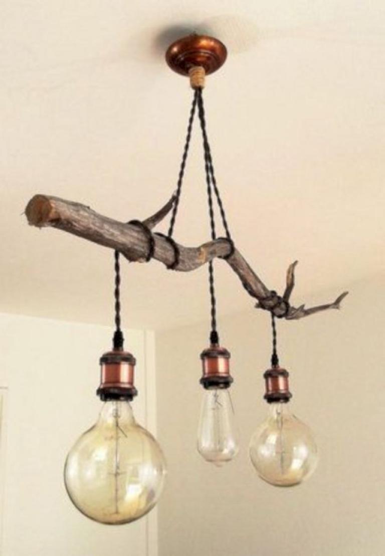 25+ INCREDIBLE DIY HANGING LAMP FOR RUSTIC HOME DECOR