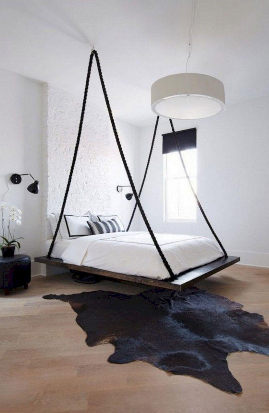 25+ Marvelous Hanging Beds Design For Unique Bedroom Ideas