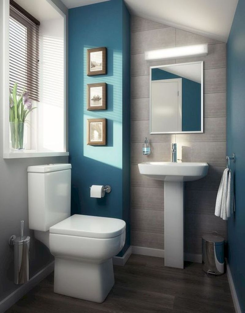 25 Small Bathroom Design Ideas That Will Make a Huge Impact – GODIYGO.COM