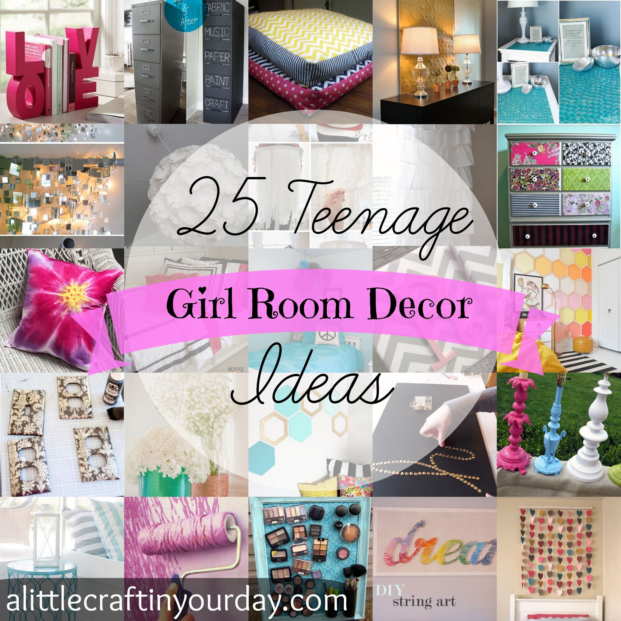25 Teenage Girl Room Decor Ideas – A Little Craft In Your Day