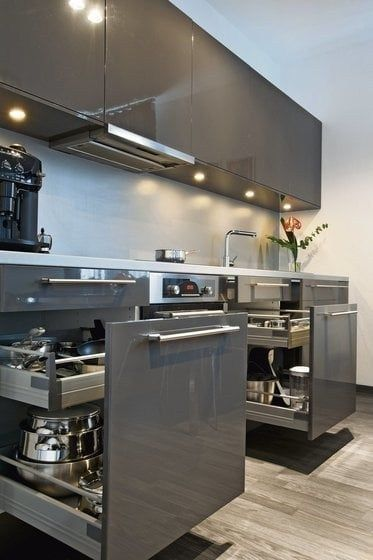 25 amazing contemporary kitchen decoration cabinets remodel ideas 24 | maanitech…