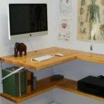 26+ Super Ideas For Wall Shelves Corner Desk Space