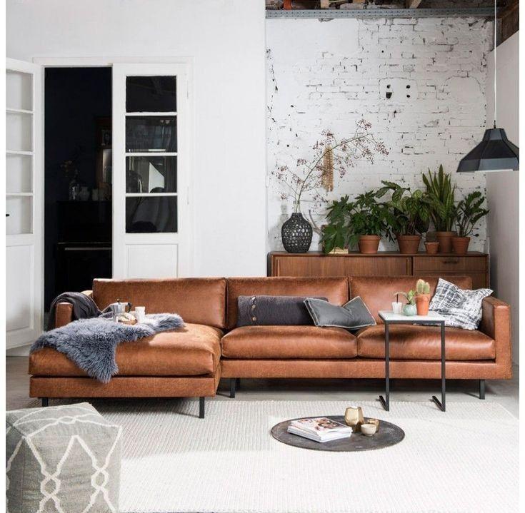 26 beautiful brown leather sofas make beautiful your living room 7 | lingoistica.com