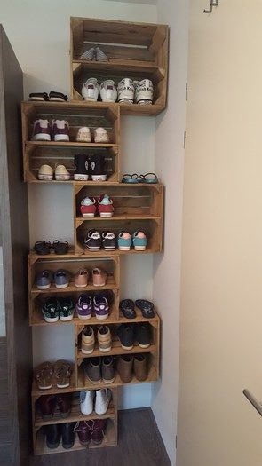 27 Cool & Clever Shoe Storage Ideas for Small Spaces – Simple Life of a Lady