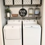 27 Laundry Room Decorating Ideas To Help Organize Space alladecor.com/... - Life with Alyda