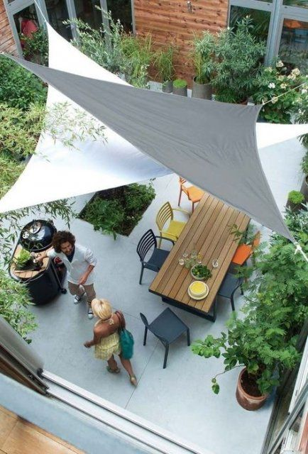27+ trendy Ideas garden shade sail decks