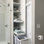 28 Well Organized Built-in Bathroom Shelf And Storage Ideas Latest Fashion Trends for Women sumcoco.com