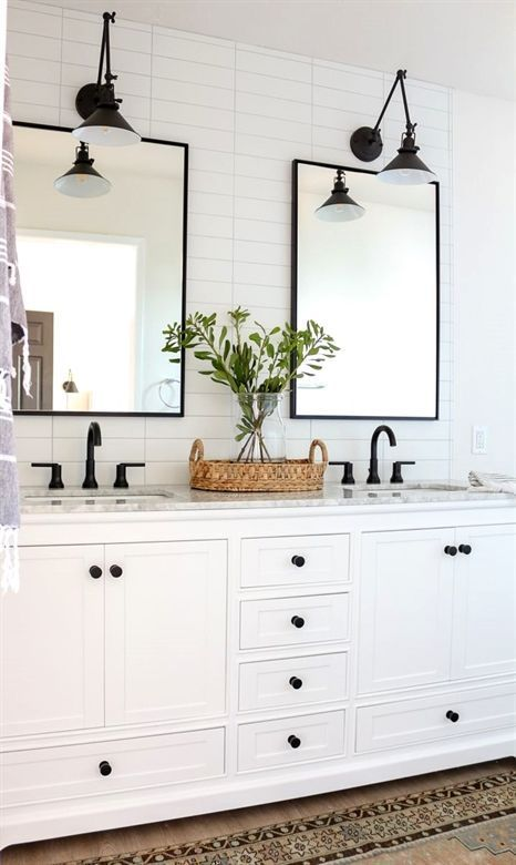 29+ Best Inspirations How To Style Bathroom Mirror | LAVORIST