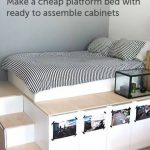 29 ideas bedroom storage furniture diy platform bed for 2019