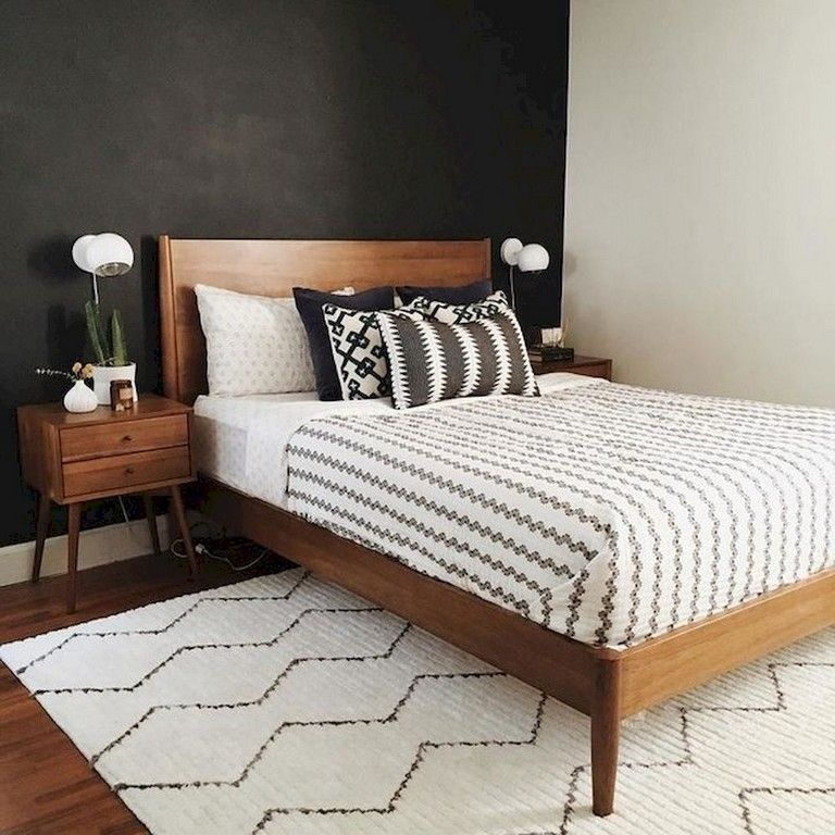 30+ Amazing Mid Century Bedroom Decoration Ideas