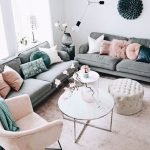 30 Awesome Ways to Style Your Grey Sofa in Living Room - Page 11 of 30 - VimDecor