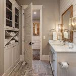 30+ Elegant Farmhouse Bathroom Wall Color Ideas - COODECOR