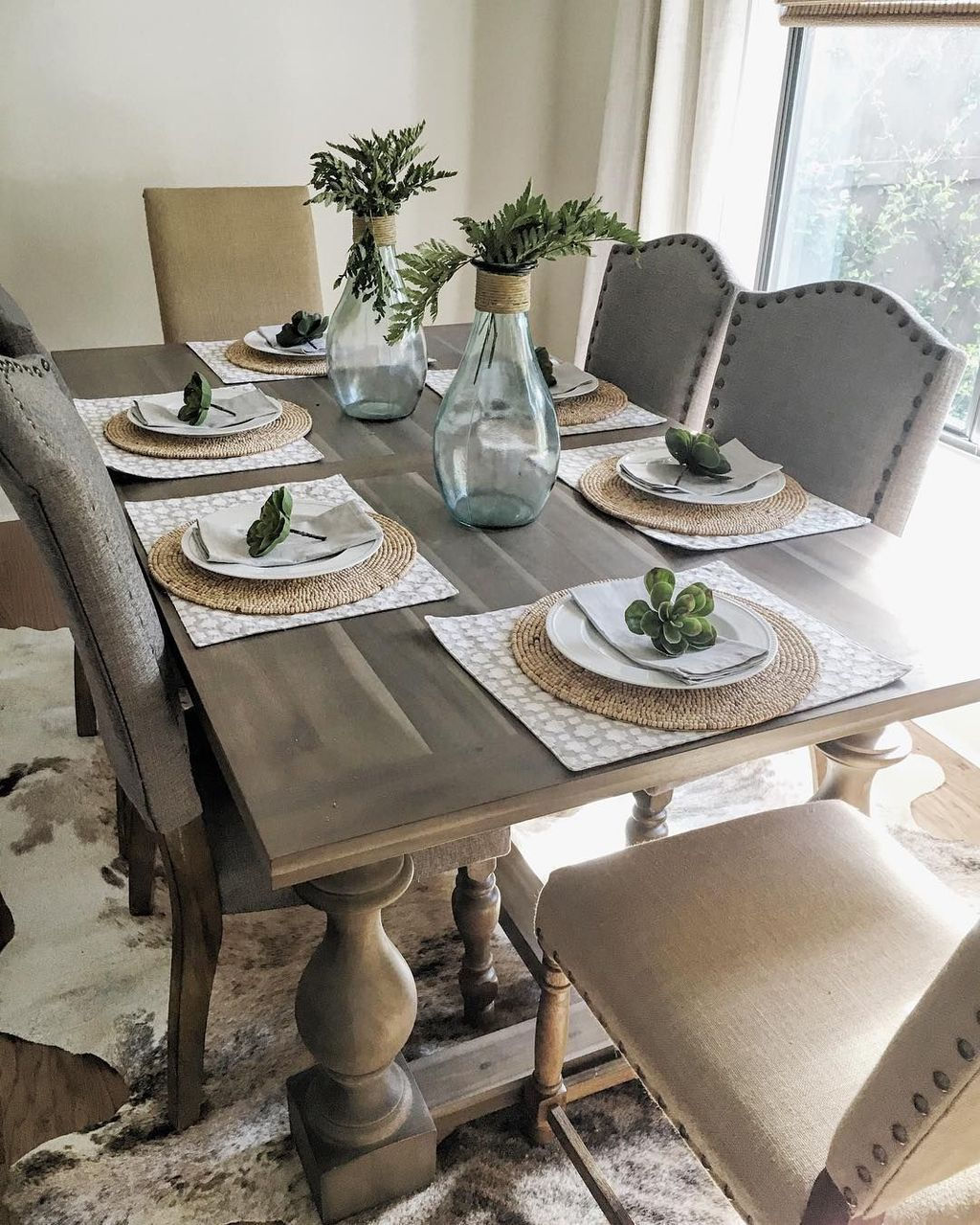 30+ Pretty Dining Room Decoration Ideas For Summer Season
