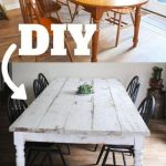 30+ Super Ideas Farmhouse Dining Table Diy Plans