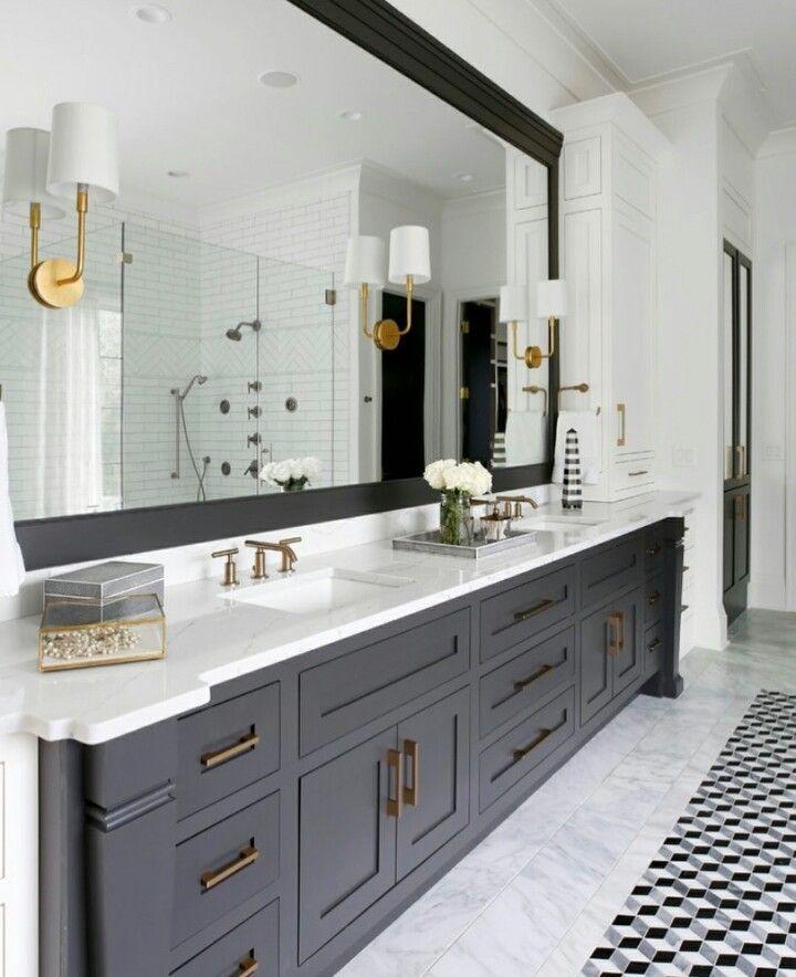 31 BATHROOM ILLUMINATION IDEAS FOR EVERY LAYOUT STYLE  #bathroomideas#bathroomti…