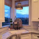 31+ Ideas For Kitchen Sink Corner Window Lights