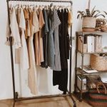 32+ Ideas For Clothes Rack Aesthetic