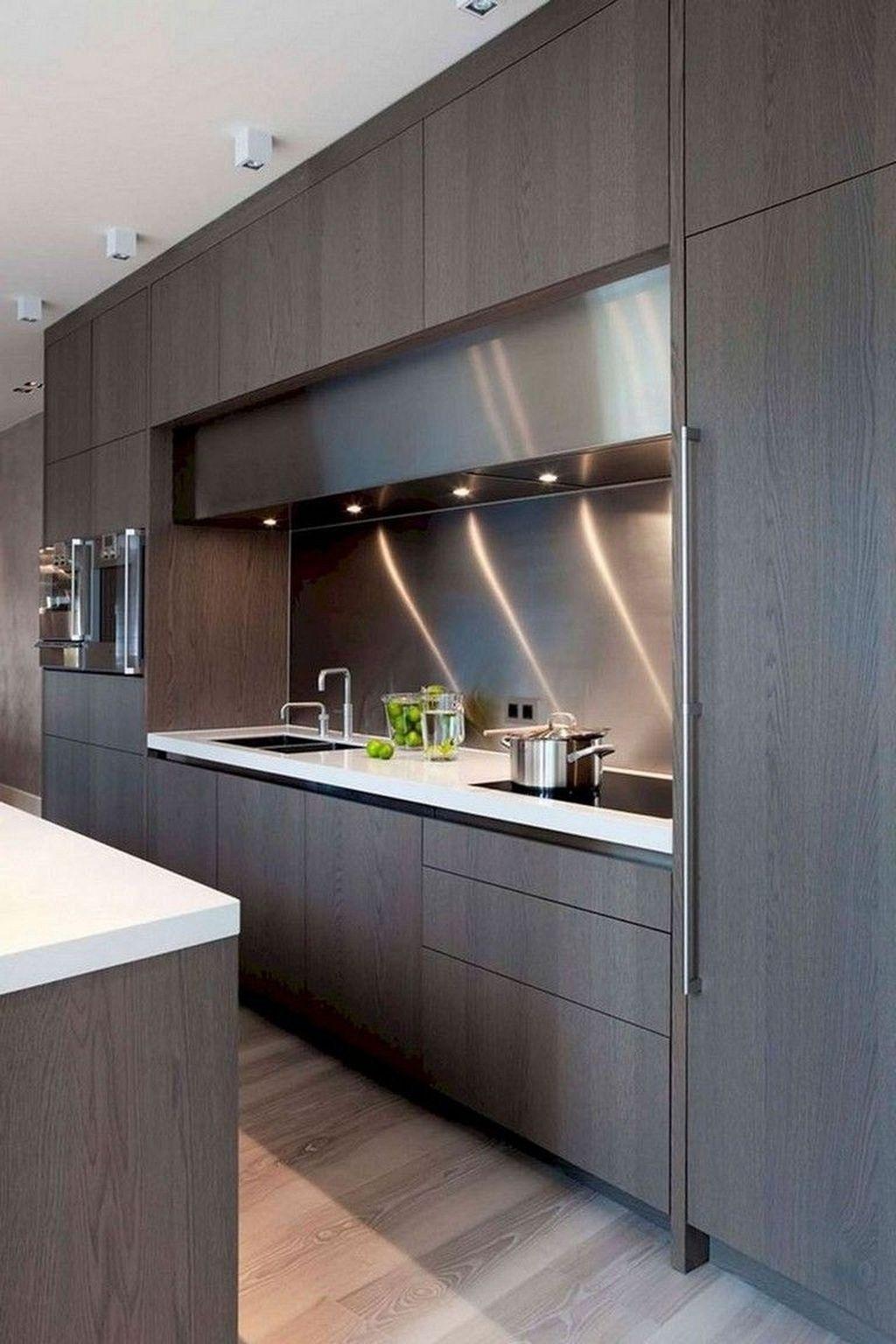 32 Stunning Modern Contemporary Kitchen Cabinet Design – Home Design