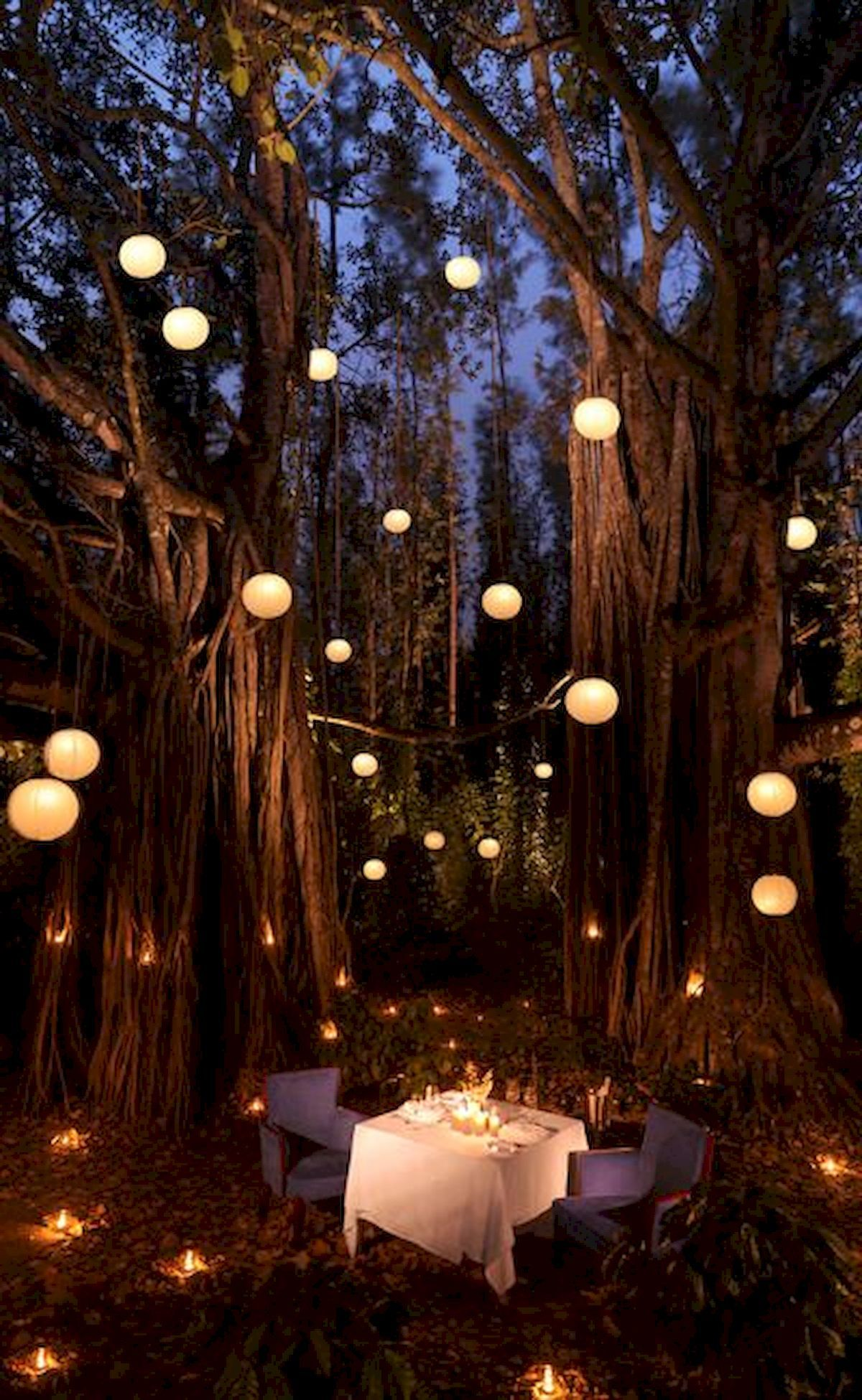 33 Best Outdoor Summer Party Lighting Ideas