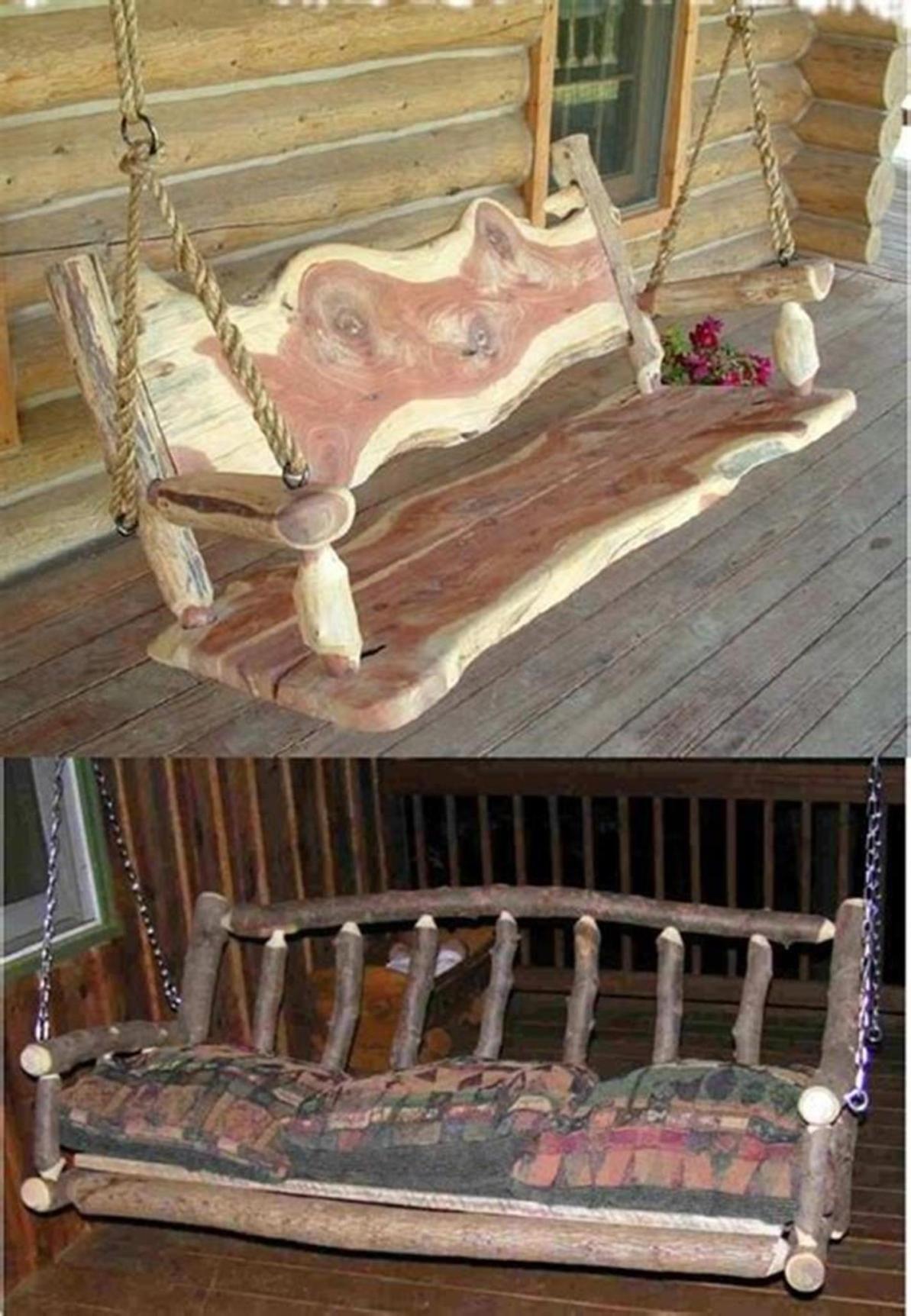 35 Best Rustic Porch Furniture Ideas You'll Love – HomeDeCraft