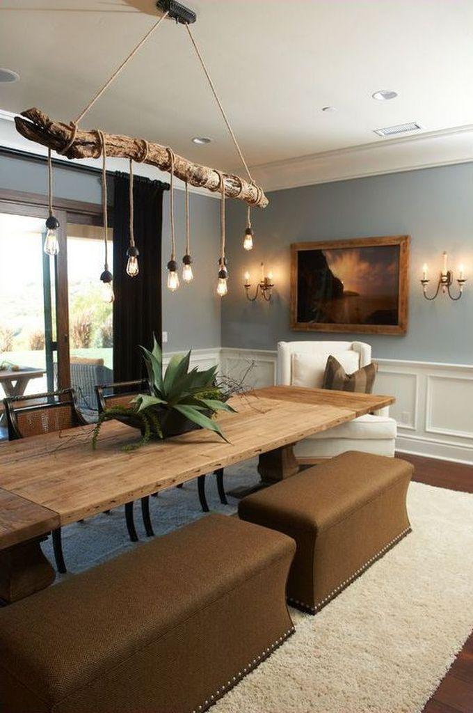 35 Incredible DIY Hanging Lamp for Rustic Home Decor