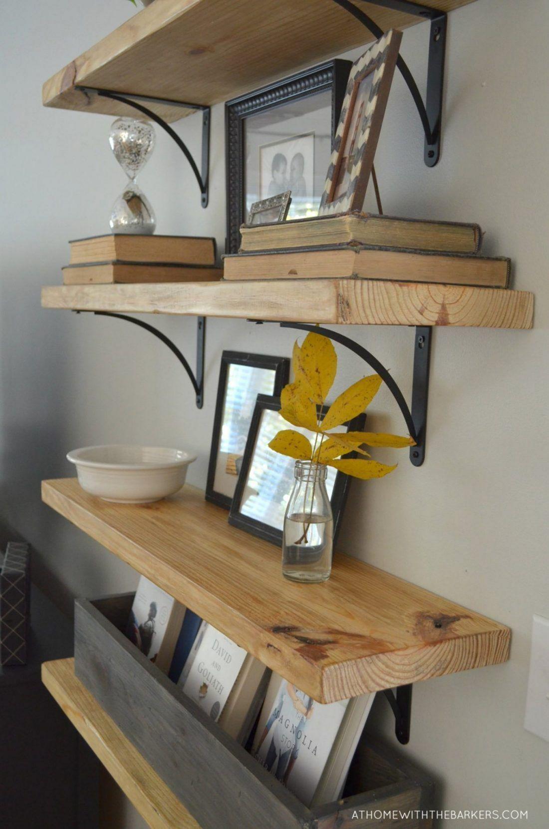 35 Most Wonderful DIY Shelves Design Easy to Make Itself – pickndecor.com/furniture